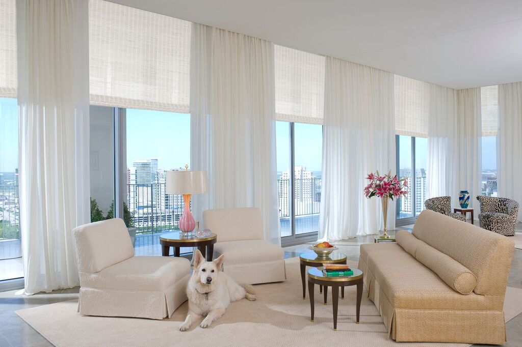 Woven Shades Roman Shades Custom Window Treatments Dallas Tx